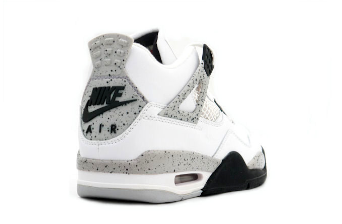 """46d38ad6e8f Nike Air Jordan 4 OG  89 """"White Cement"""""""