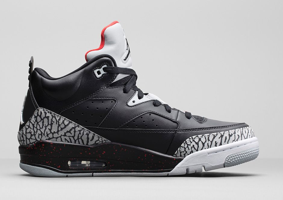 outlet store 5495b e326f ... canada elephant print trim dual nike air units and other iconic jordan  elements come together on