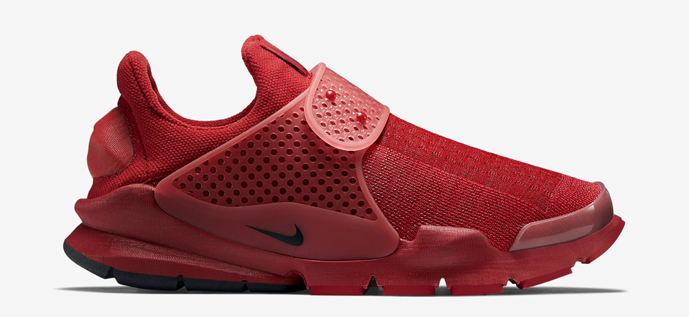 """4574336b0b06 ... launch as one of the forthcoming releases from Nike s """"Independence  Day"""" pack – the Sock Dart """"Sport Red"""" – as a part of the Swoosh s plans for  July 4."""