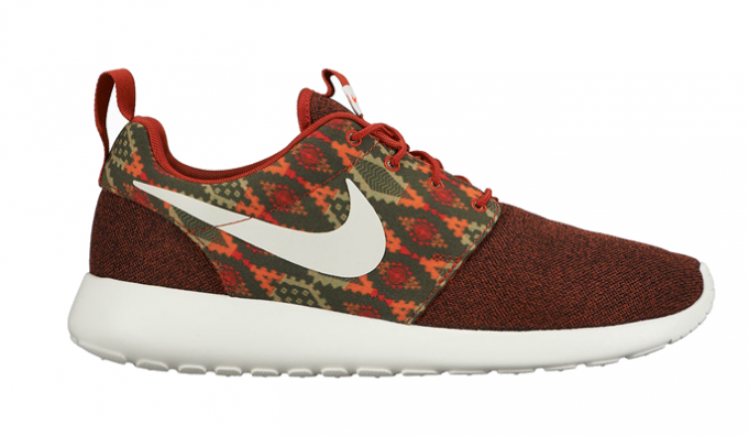 "3dd8822077c4 Here is a first look at the latest Nike Roshe One Print ""Cinnabar"" is set  to makes it debut in a mixture of rustic-like colors later this Fall 2015."