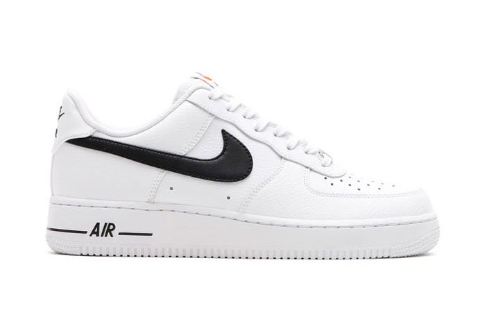 air force 1 low white black