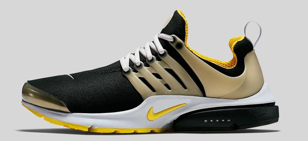 "online store 27809 b2f4e Nike Air Presto ""Brutal Honey"" Black Neutral Grey-Neutral Grey-Yellow  Streak 789870-001. June 20, 2015  120"