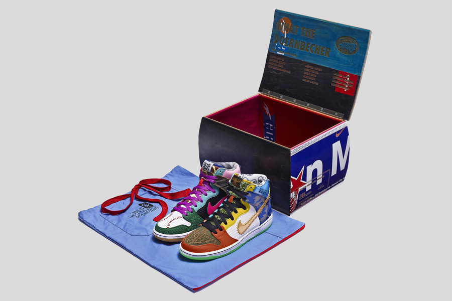 """best service d7116 6568b Nike """"What the Doernbecher"""" Dunk SB s Auctions Totals Are In.."""