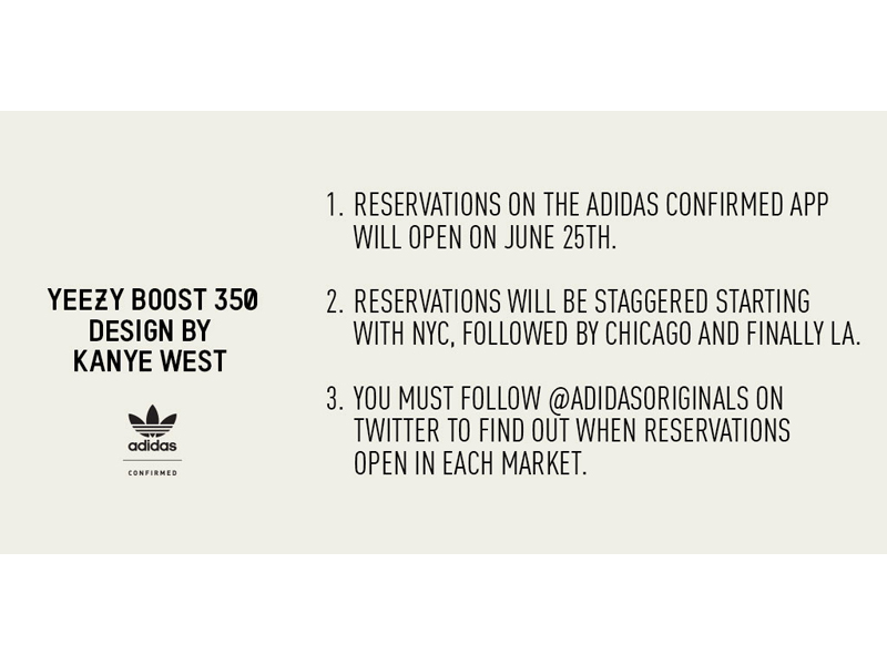 low priced f3fad 9515e adidas Originals Confirms Yeezy Boost 350 US Launch Plans — The Sole Truth