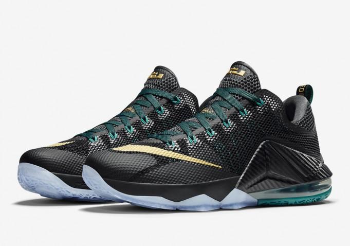"sale retailer 47502 cd7cc Nike LeBron 12 Low ""Carbon Fiber""   Release Date"