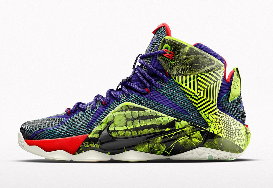 newest collection b2ad4 0862d The Nike LeBron 12 Unlocked iD is now available directly at NIKEiD for   245 USD.