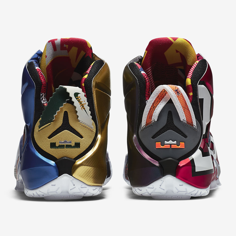 """The Nike LeBron 12 """"What The"""" is set to launch on Saturday d03e7db31"""