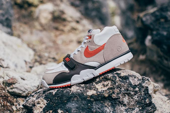 the best attitude 3ce4a 7f578 The Fragment Design x NikeLab Air Trainer 1 Mid Pack is now available at  select Japanese retailers including INVINCIBLE.