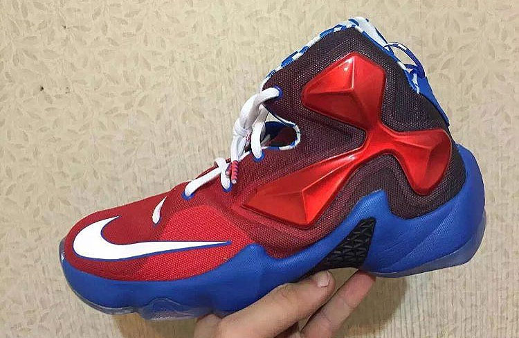 """separation shoes 3a046 050ca Nike LeBron 13 GS """"Captain America"""" — The Sole Truth"""
