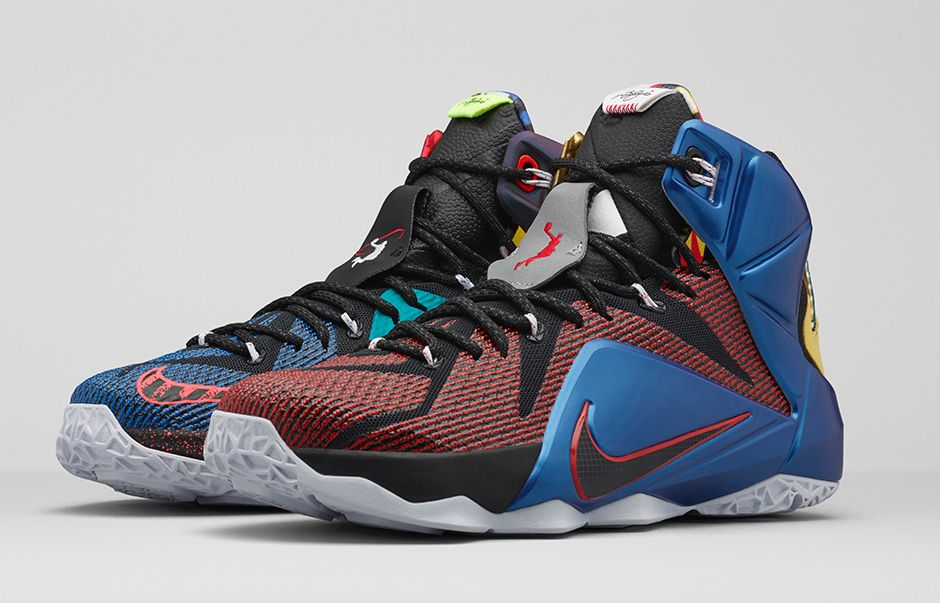 "2a445450f8e4a0 ""What The"" Nike LeBron 12"