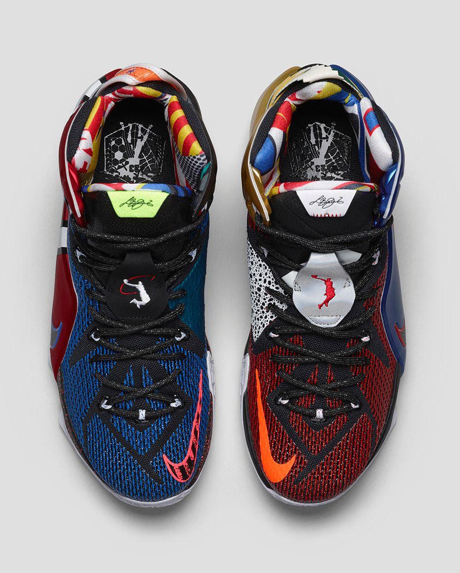 """ca5d9578f What The"""" Nike LeBron 12"""