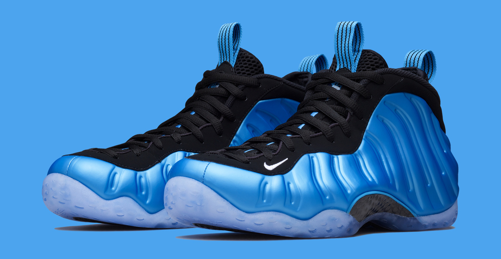 "buy online 5f085 621d0 Nike Air Foamposite One ""University Blue"" Official Images"