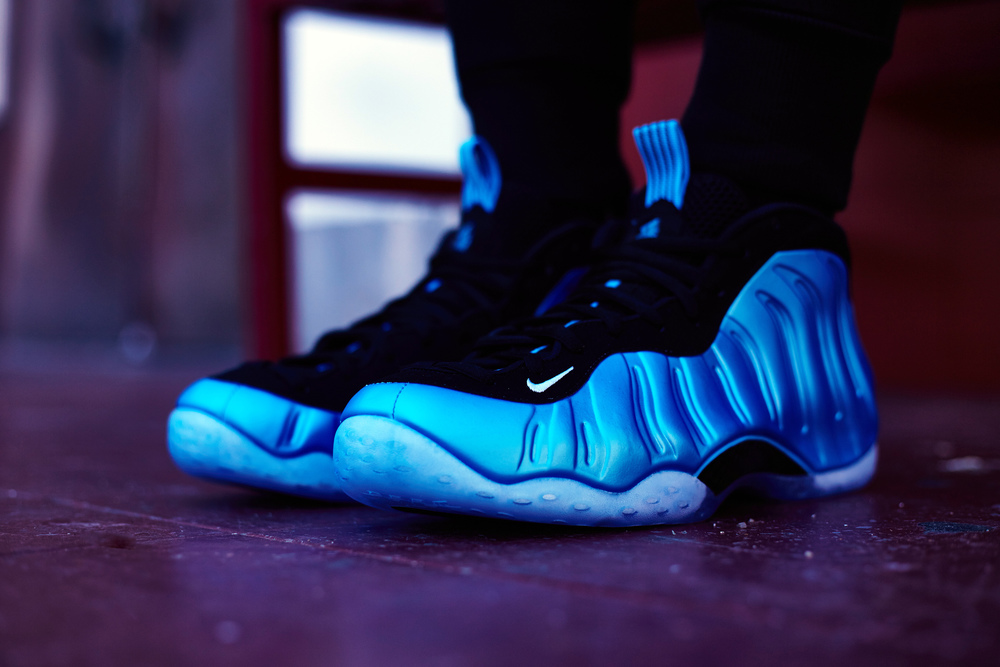 "d5cd430894c31 NIKE AIR FOAMPOSITE ONE ""UNIVERSITY BLUE""    On-Foot Recap — The ..."