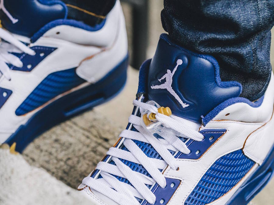 097d98e36439 BY  The Sole Truth. Here is an on-feet look at the Air Jordan 5 low