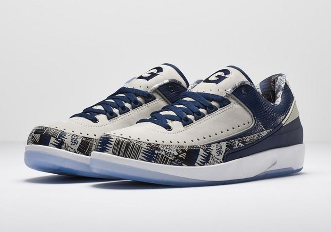 "b339eabdd95371 Jordan Brand Unveils Air Jordan 2 Low   Air Jordan XXX ""Georgetown"" PEs"