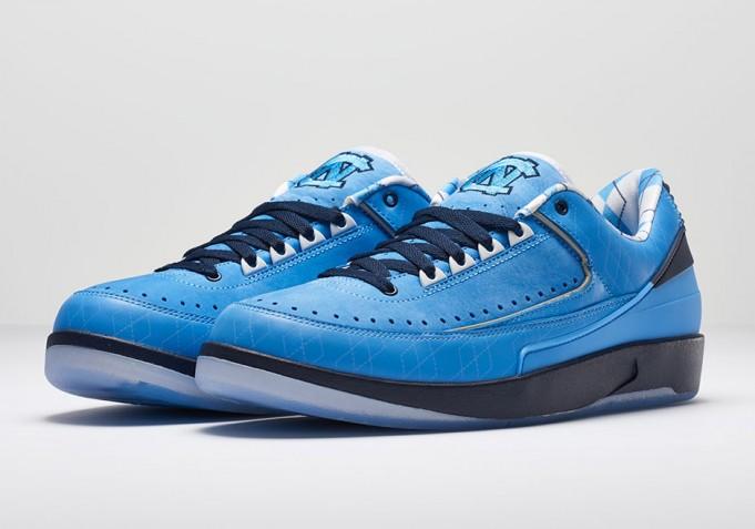 """165fda7be34b10 Air Jordan 2 Low   Air Jordan XXX """"UNC Tar Heels"""" March Madness PEs ..."""