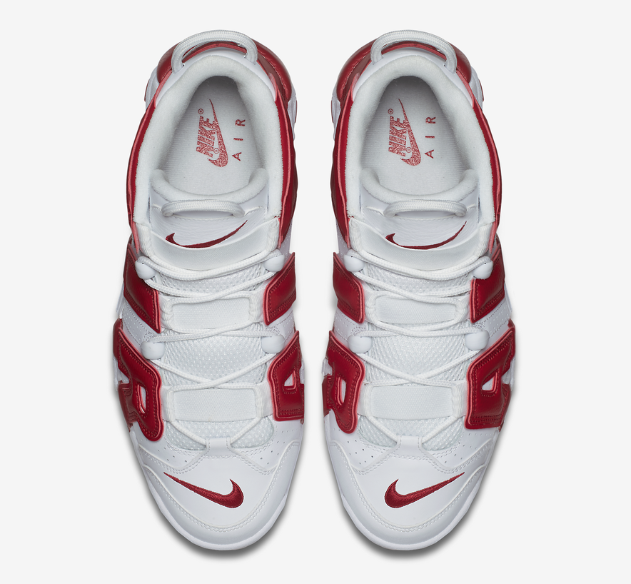 """680b091f8a6b Nike Air More Uptempo """"Varsity Red"""" — The Sole Truth"""