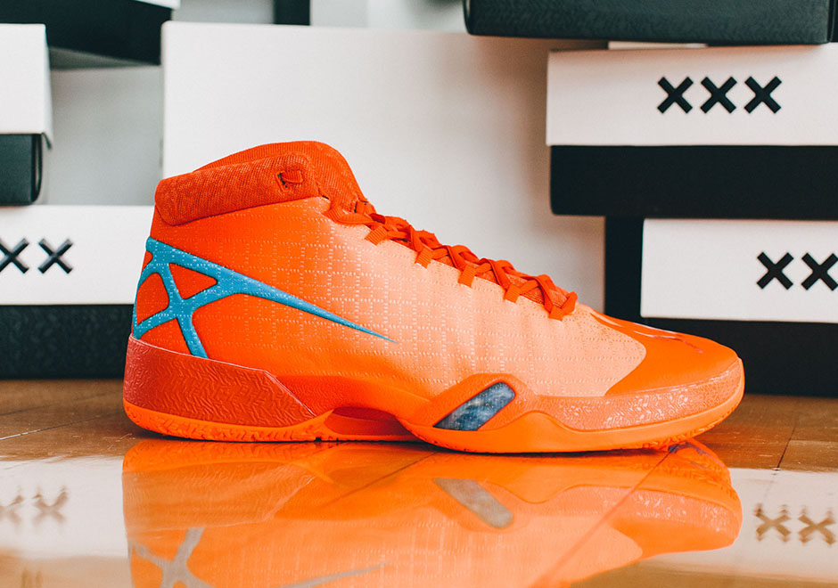 "brand new 21674 d89ce AIR JORDAN XXX Russell WestBrook ""Thunder"" PES — The Sole Truth"
