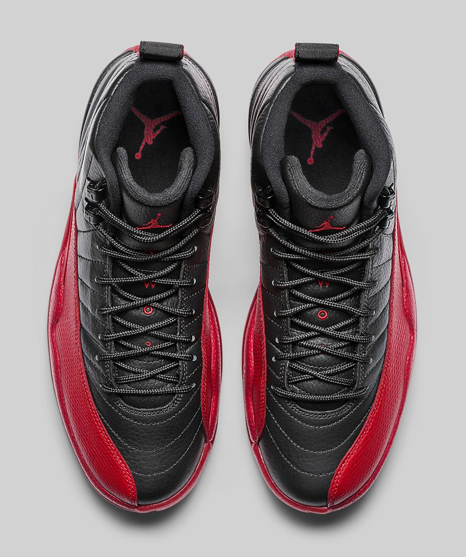 4a8536785976 AIR JORDAN 12 RETRO  BLACK VARSITY RED  — The Sole Truth