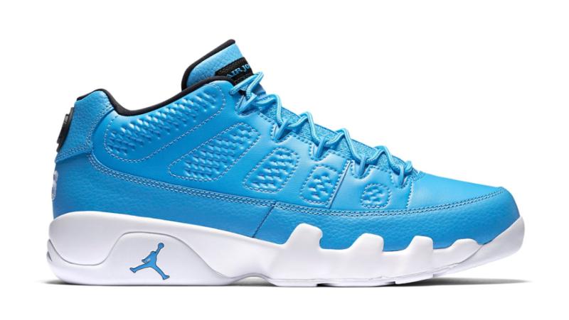 promo code 9695d ce8d9 real jordan university blue blue white black university 9 sneakers 8e14f  276a2  best air jordan 9 retro low pantone ac9f0 bb83e