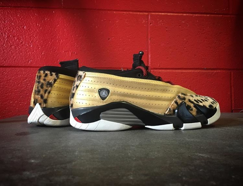 8a48019bd1eb07 ... best price enzo amore wrestles in custom air jordan 14 lows 55f37 997a0