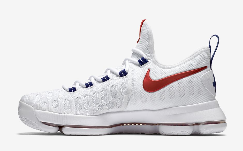 NIKE ZOOM KD 9  WHITE UNIVERSITY RED  — The Sole Truth 6055fc961