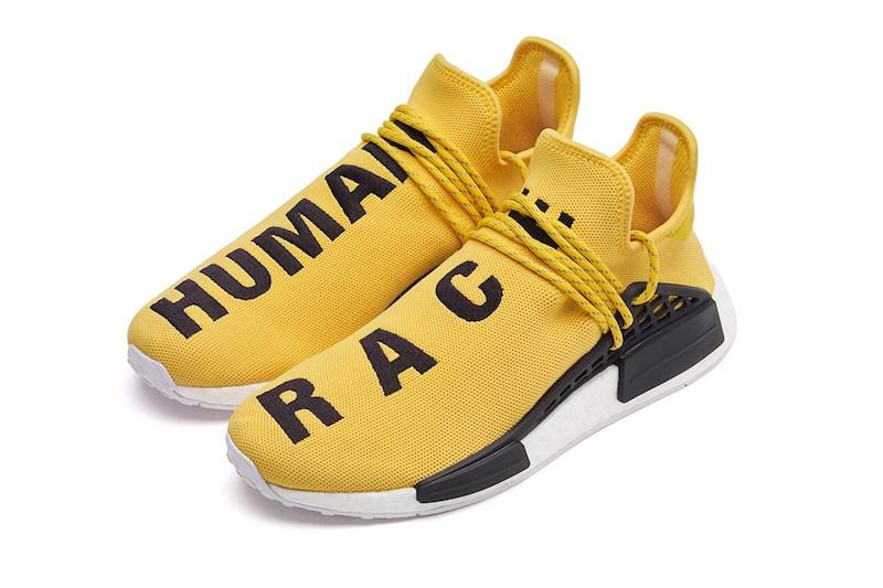 "75080aac53f9 PHARRELL WILLIAMS X ADIDAS NMD ""HUMAN RACE"" — The Sole Truth"