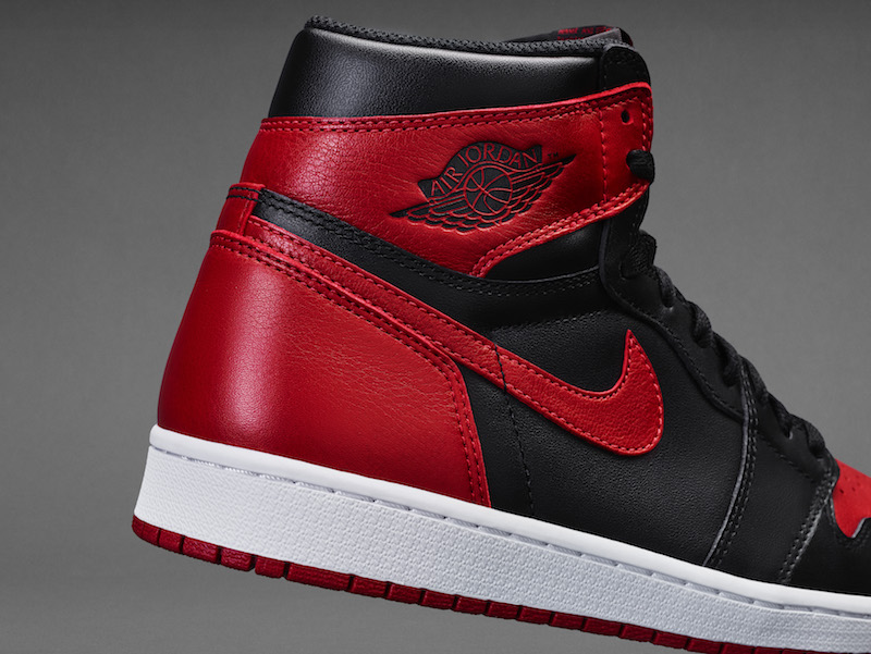 """72a52717b7055e The Air Jordan 1 Retro High OG """"Banned"""" will release during Labor Day  weekend on September 3rd"""