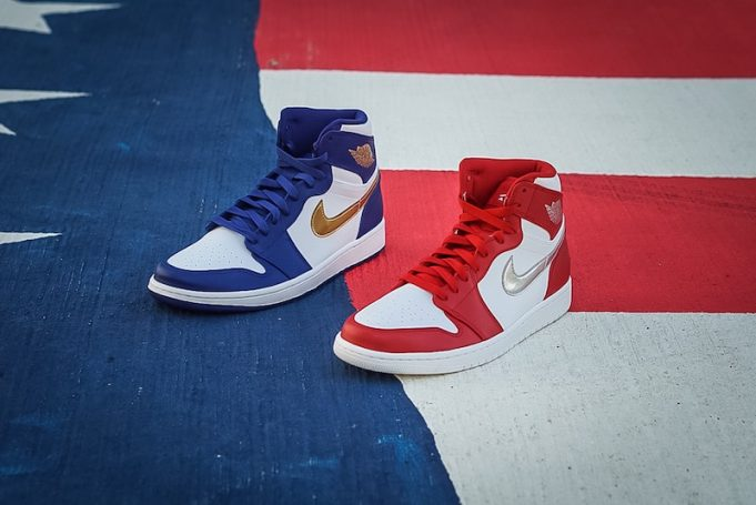 "sports shoes 59134 172a8 AIR JORDAN 1 RETRO HIGH ""OLYMPIC MEDAL PACK"""
