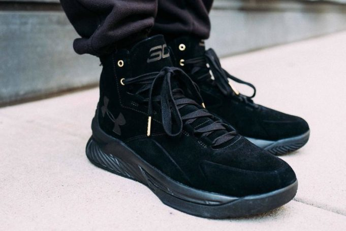 """san francisco a7a80 5557e UNDER ARMOUR CURRY LUX """"BLACK SUEDE"""" — The Sole Truth"""