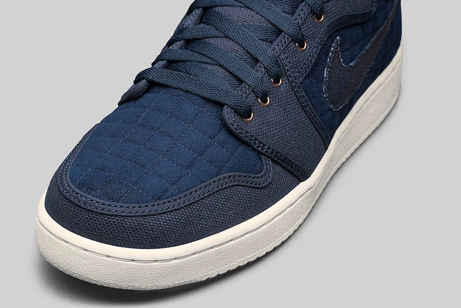 1a034a3960e The shoe features a mixture of canvas and quilted fleece throughout its  upper with Bronze and White accents sitting atop a Sail sole.