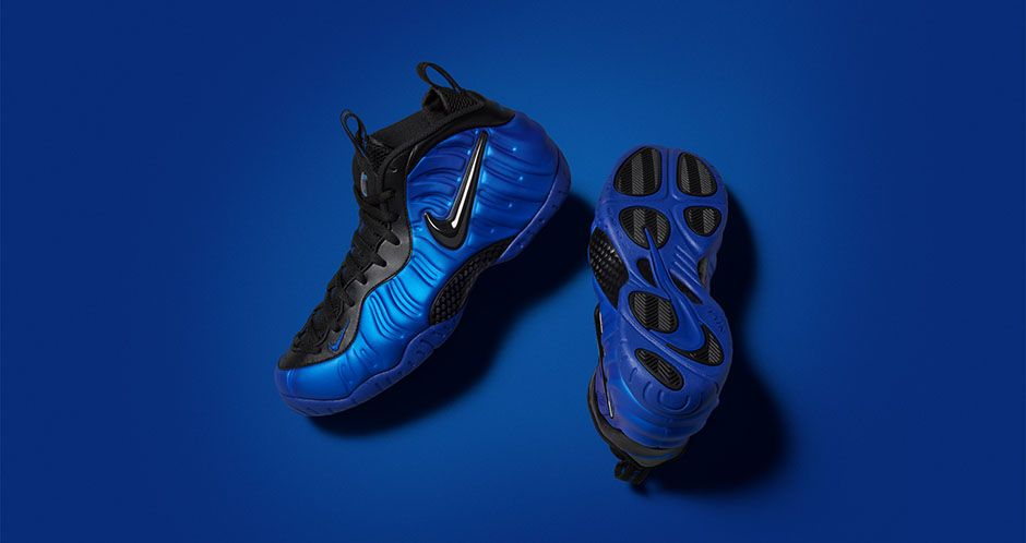 new product 5b436 2434b Nike Air Foamposite Pro Hyper Cobalt