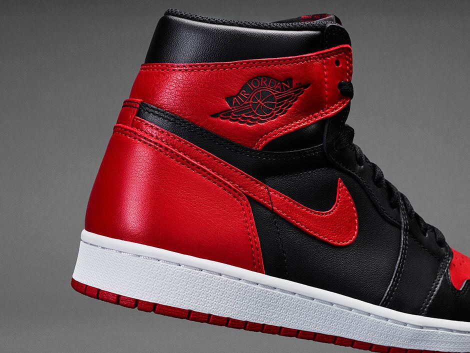 factory price 31b2e 7dcf2 The shoe will feature a full Black premium leather upper branded with  Nike  Air  branding and will rest atop a White midsole and Red rubber outsole.