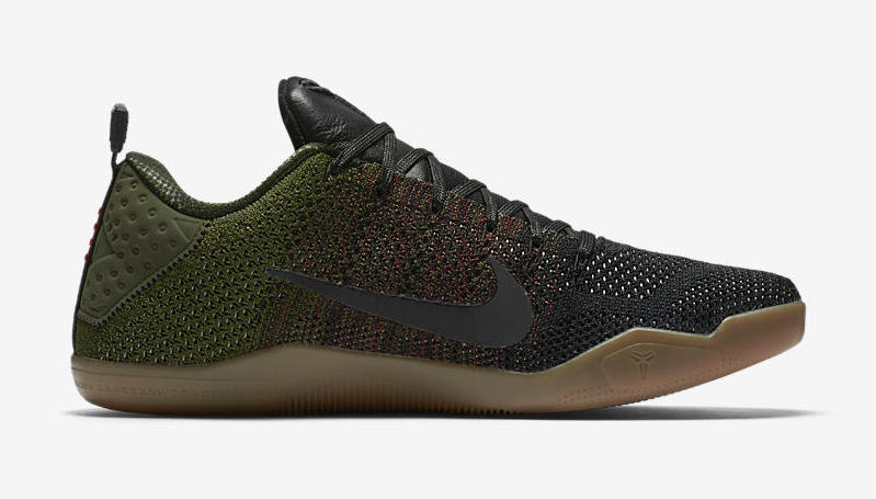 """9e4edf11261 The Nike Kobe 11 Elite Low 4KB """"Black Horse"""" is set to be released on  September 17th"""