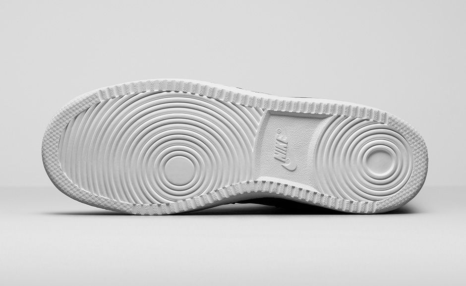 wholesale dealer 27844 8a604 Completing the look is a clean all-White rubber sole, similar to what you d  see on the Air Force 1.