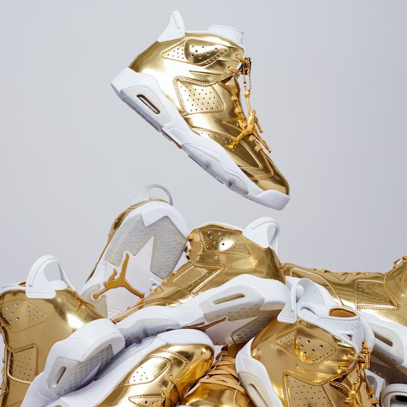 """AIR JORDAN 6 PINNACLE """"METALLIC GOLD"""" — The Sole Truth 0e3da8433"""