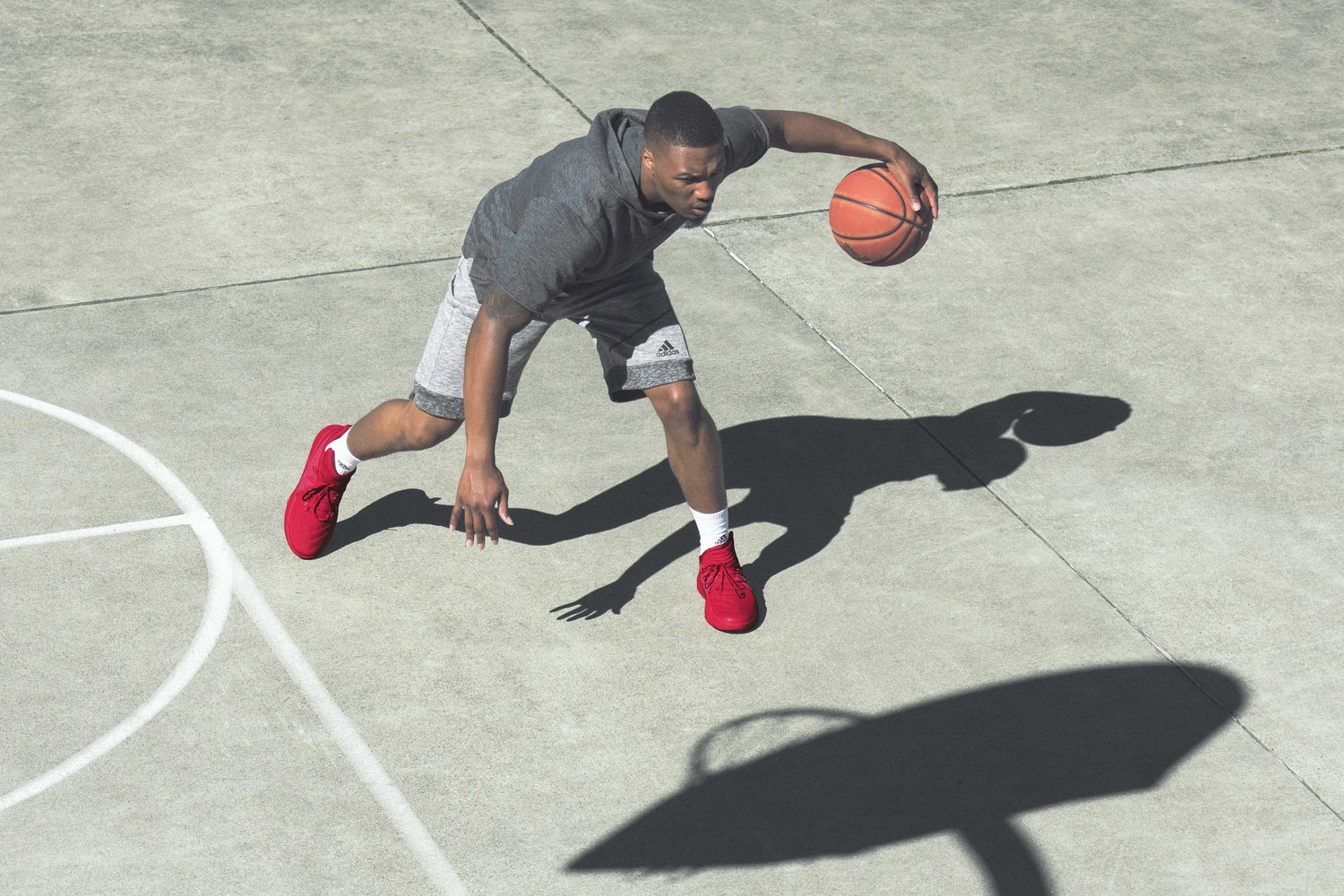 huge discount 1f9f1 68f80 GROUNDED BY THE ROOTS ADIDAS AND DAMIAN LILLARD PRESS PLAY ON DAME 3