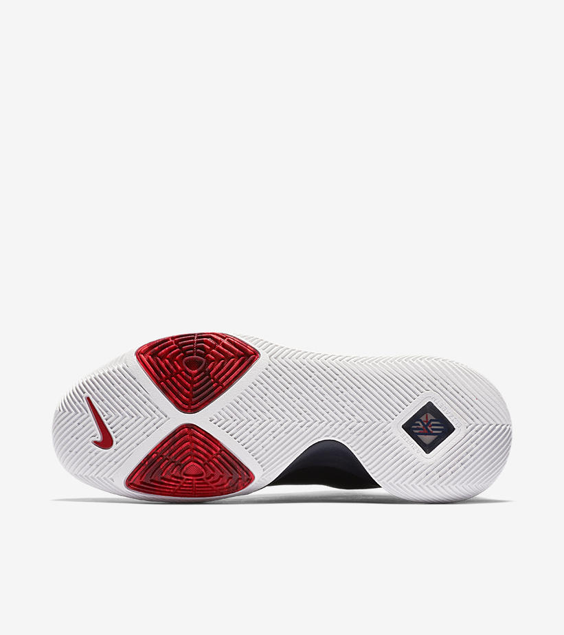 "316f8d98270 The Nike Kyrie 3 ""Samurai"" sold-out on Nike SNKRS for  120 USD."