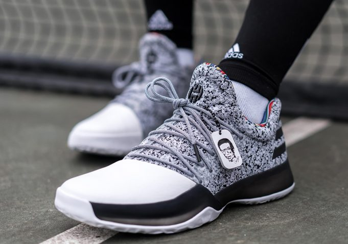 finest selection 49fe9 94879 adidas-harden-vol-1-black-history-month-681x477. ...
