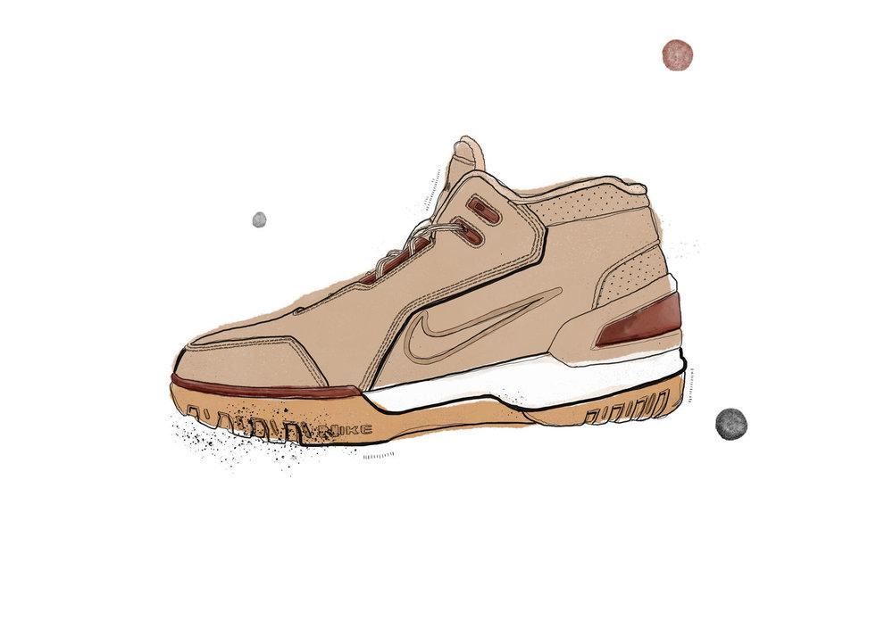 6985b33a06b Lebron s original signature shoe gets reinvented in Vachetta leather