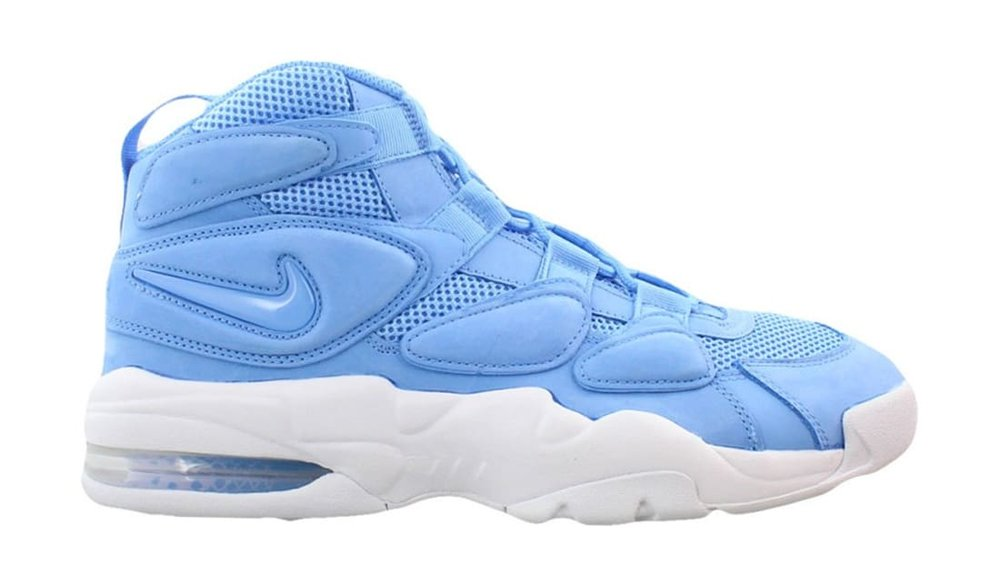 18260243567 18, 2017. Colorway: Three colorways (Uptempo 1 not pictured) Price:  $140-$160. Available At: Nike.com and select Nike retailers