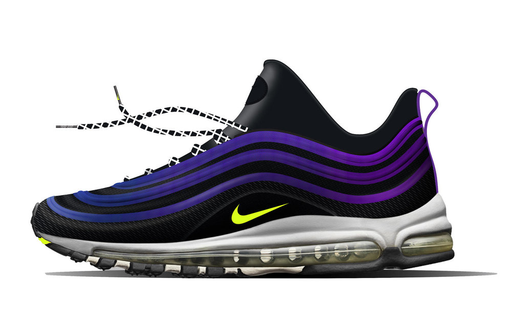 35783e1a038b Konno s shoe combines a Flyknit upper and Air Max 97 airbag with  inspiration from Tokyo s club scene and street culture.