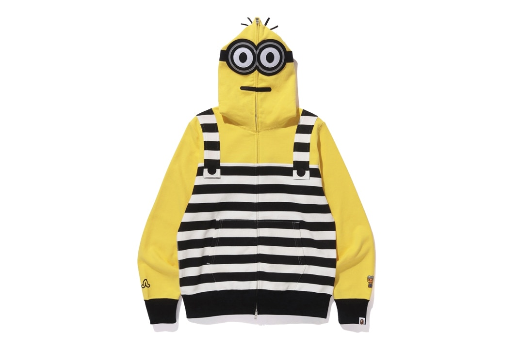 19ae315c A Look At A BATHING APE® x MINIONS Capsule Collection — The Sole Truth