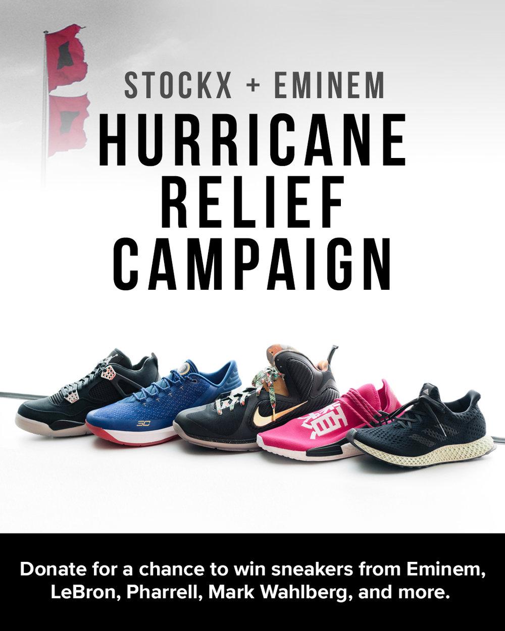 StockX, Eminem & World's Biggest Celebrities Giving Away