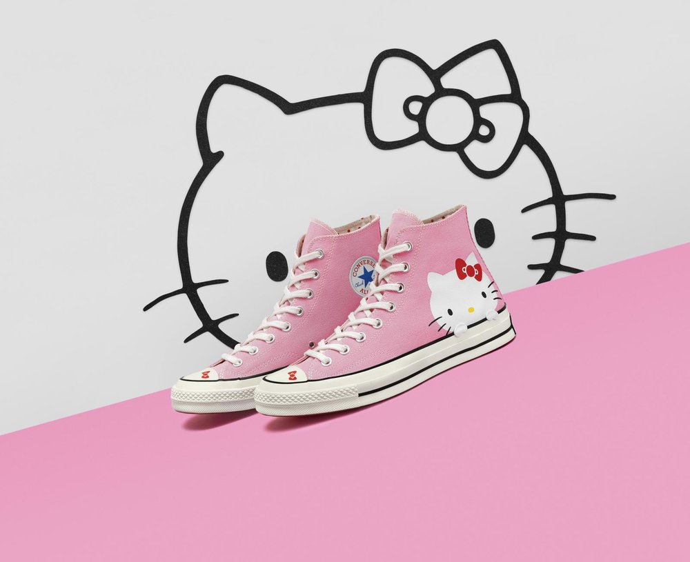 8298d100539f Converse and Hello Kitty  Two Timeless Icons Unite