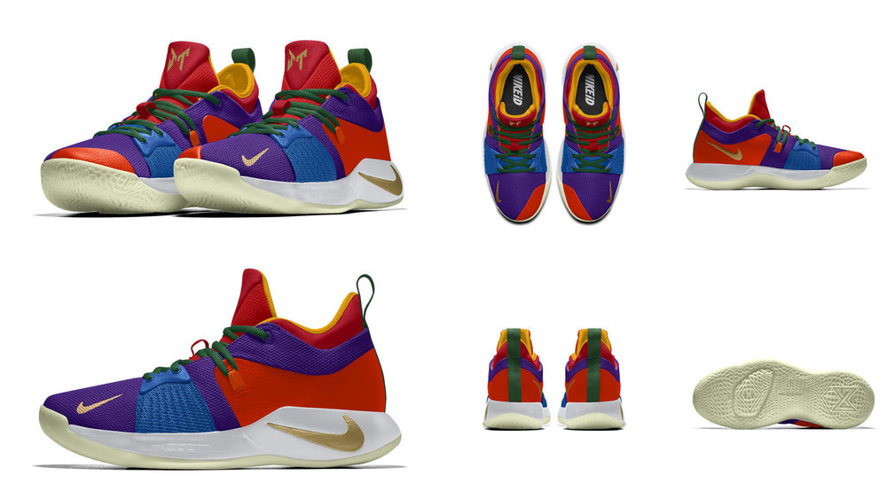 "Image result for NIKEiD PG2 ""Coloring Book"""