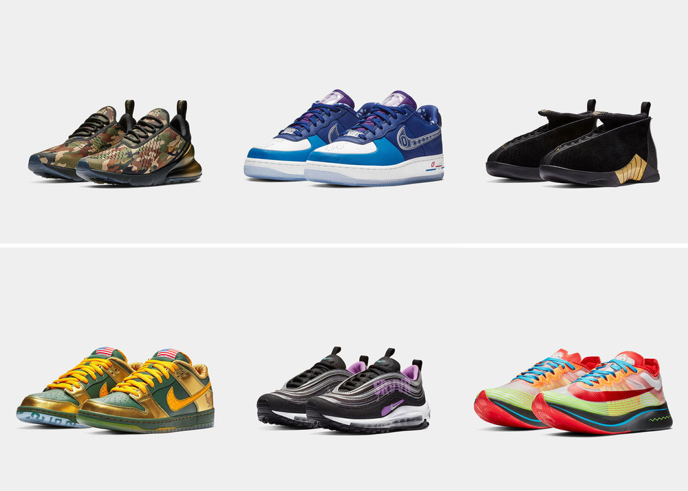 5c2fed0f2c3 DoernbecherFreestyle 2018 FinalShoes Group rectangle 1600.jpg. BY  The Sole  Truth. The 2018 Doernbecher Freestyle collection will ...