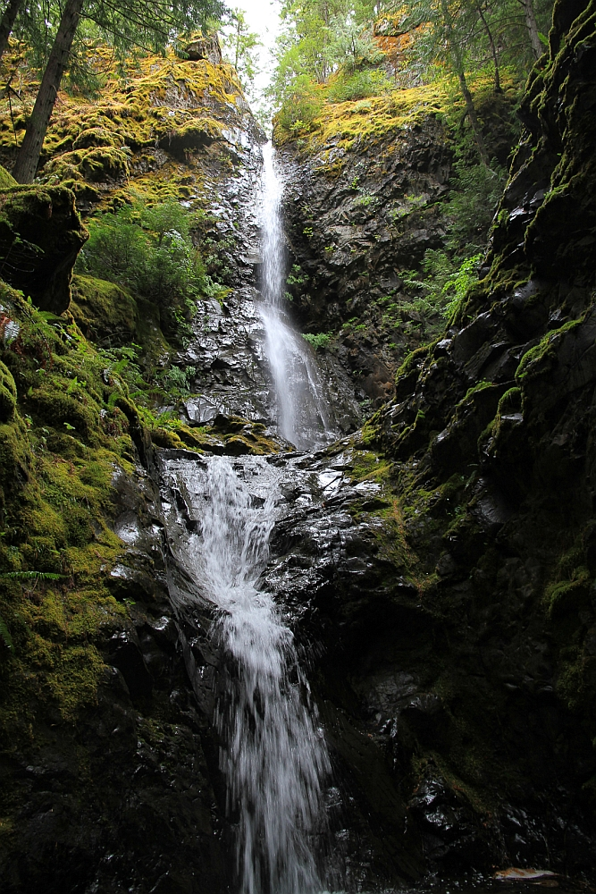 Lupin Falls on Vancouver Island