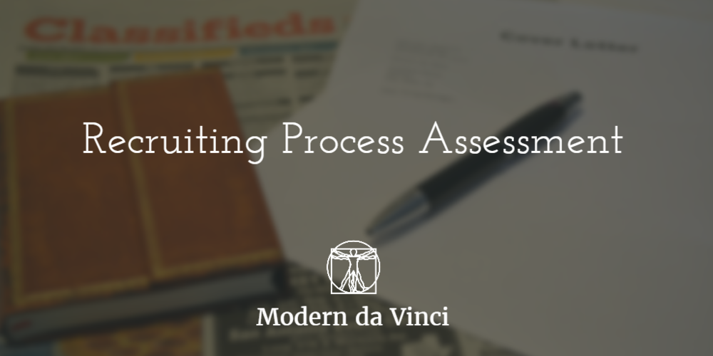 Click to take the Recruiting Process Assessment >