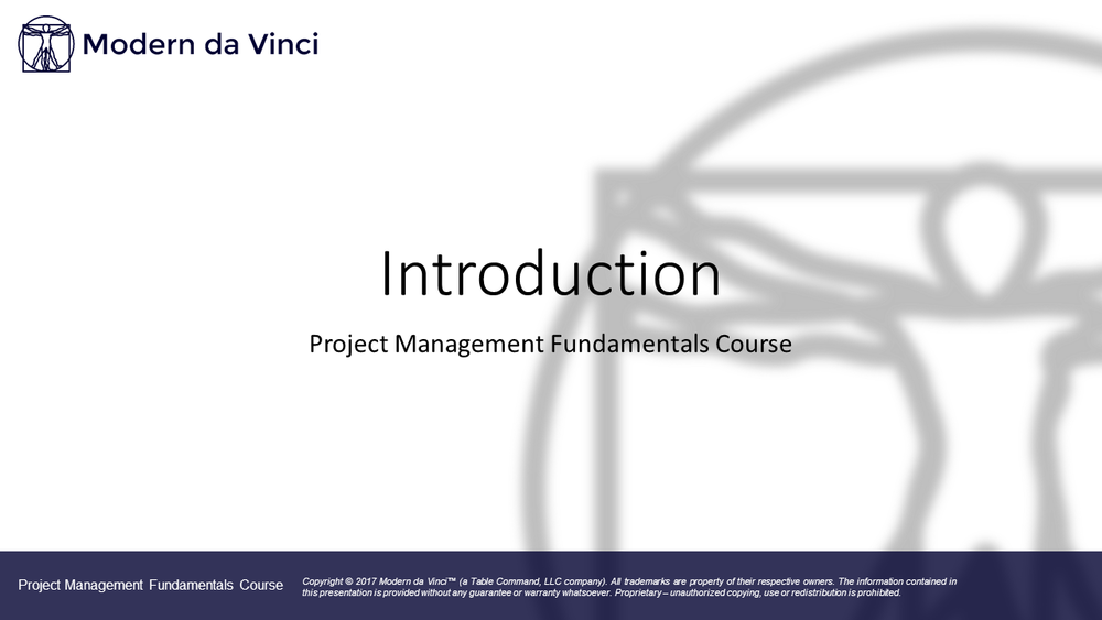 Introduction - Introduction to the Course
